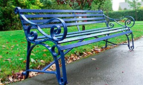 Commemorative Bench at Hillworth Park